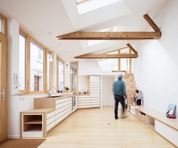 Giải pháp thiết kế hoàn hảo cho ngôi nhà 45 m2