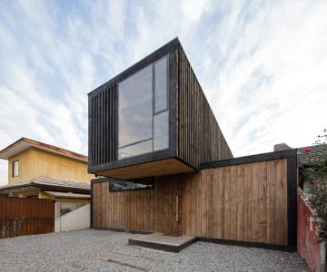 FS Residence - Sự hài hòa của thép và gỗ