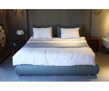 Giường ngủ đẹp hiện đại bọc da Chateau d'Ax 38 TI