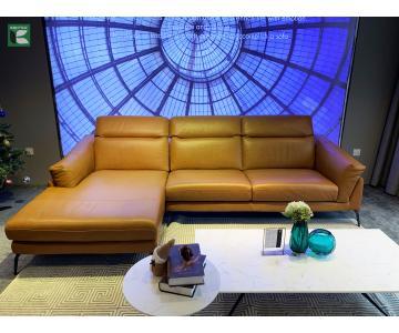Sofa Góc L Da Thật F021 FLORENCE