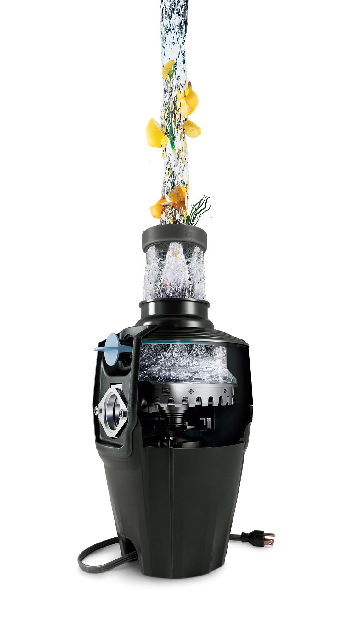 Máy xay rác cho chậu rửa công suất 1/2 mã lực điều khiển từ xa EX50MCL4/6