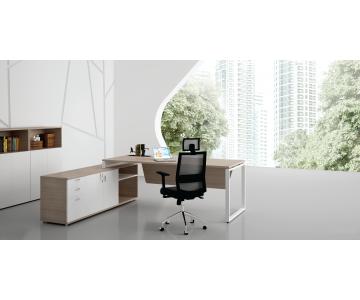 Bàn lãnh đạo liền tủ Platform | Office Desking