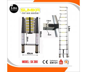 Thang rút nhôm Sumika SK 3804/5