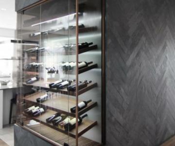 Những mẫu thiết kế tủ rượu hiện đại sang trọng