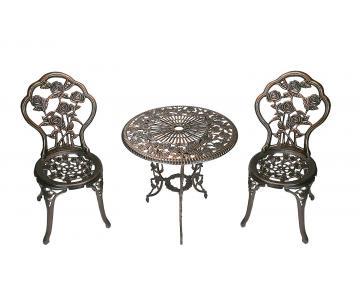 Bộ bàn ghế nhôm đúc