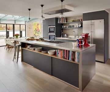 Mẫu Bếp Đảo Hiện Đại Cho Nhà Bạn
