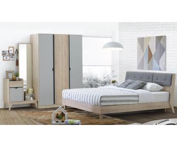 Bộ Phòng Ngủ Bente - Linberg Oak