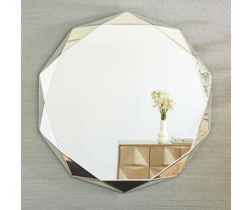 Gương trang trí vát cạch kiểu pha lê