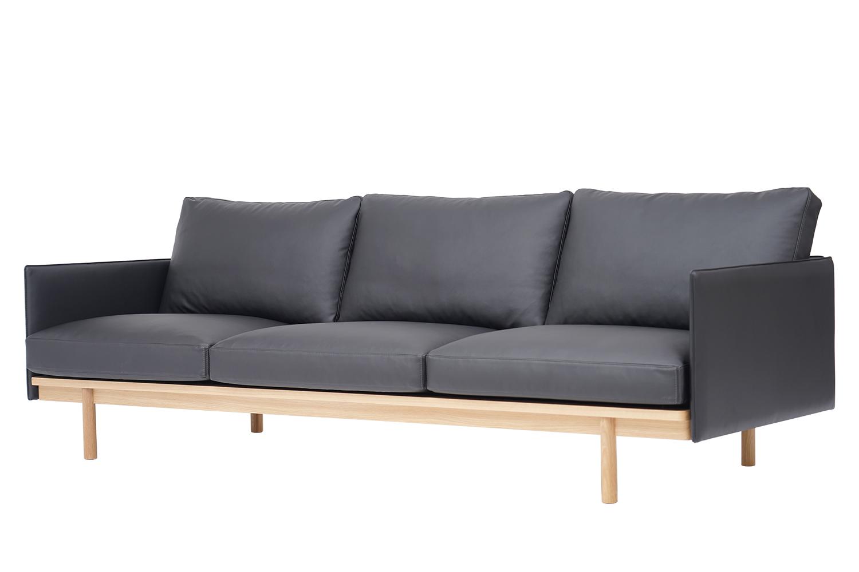Sofa 3 chỗ Pensive 3.5 bọc da L25/8