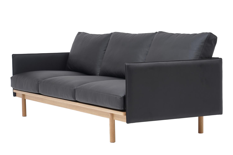 Sofa 3 chỗ Pensive 3.5 bọc da L28/8