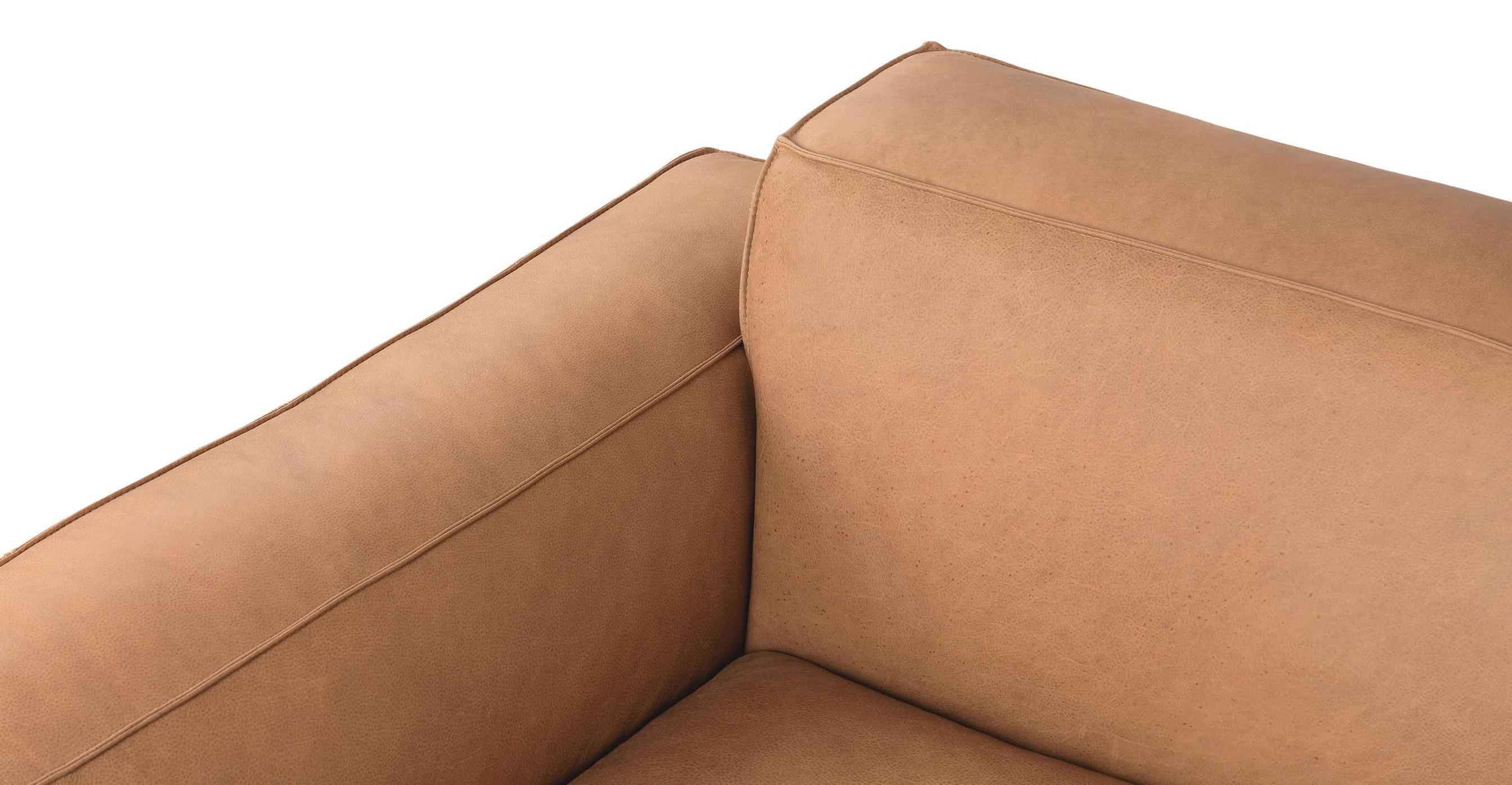 Ghế Sofa bọc da gỗ tự nhiên 3 chỗ ngồi Sketch2/9