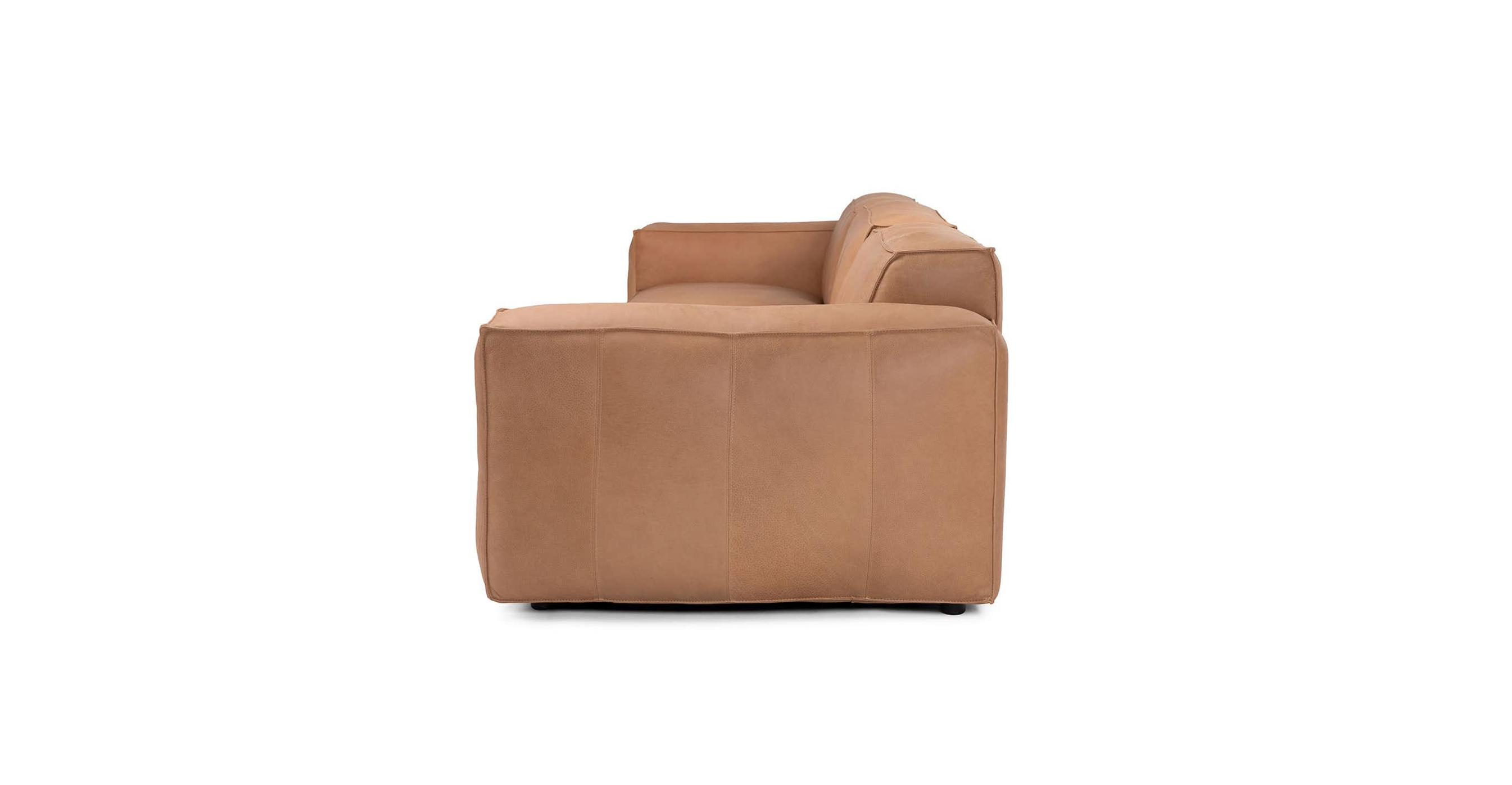 Ghế Sofa bọc da gỗ tự nhiên 3 chỗ ngồi Sketch6/9