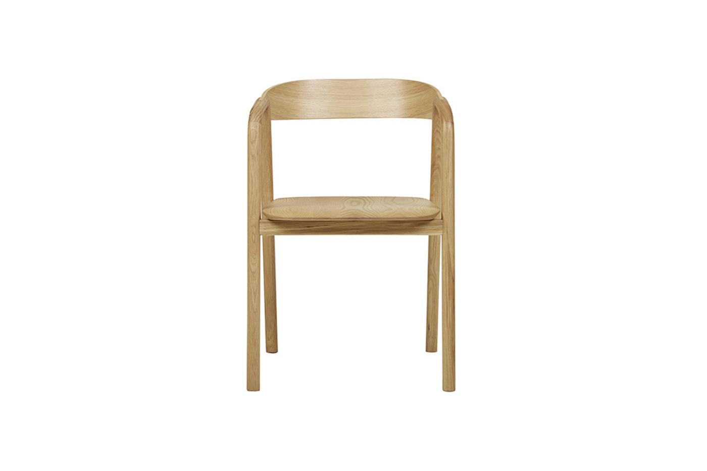 Ghế đơn gỗ sồi Inlay DC Sketch đẹp xuất khẩu2/13