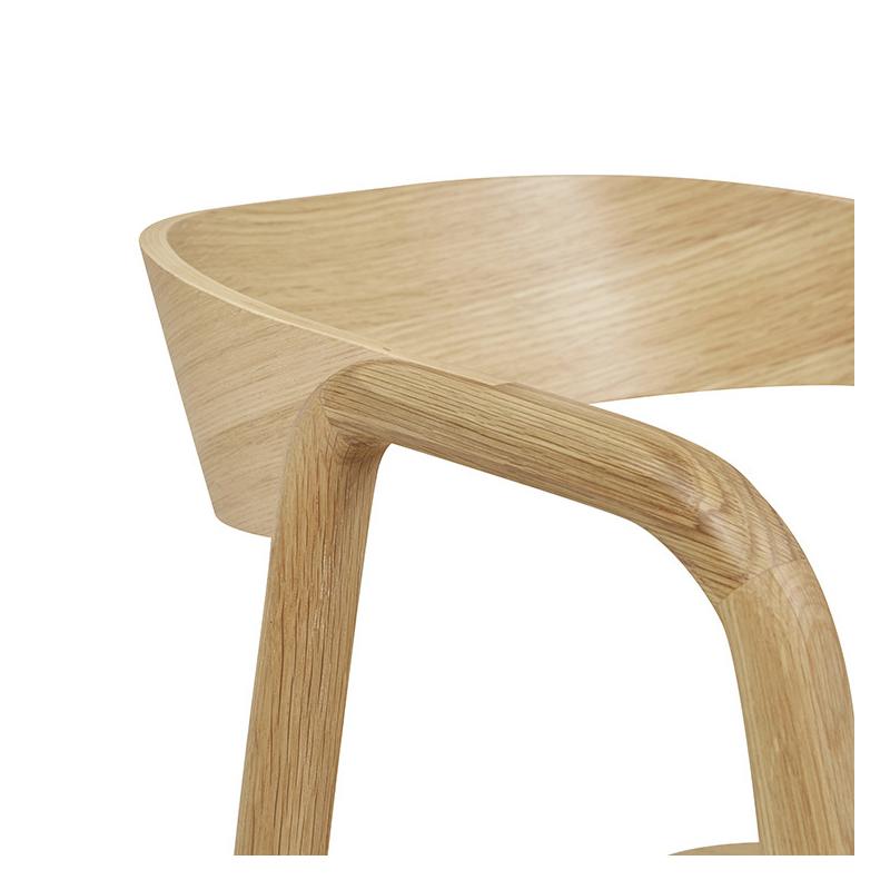Ghế đơn gỗ sồi Inlay DC Sketch đẹp xuất khẩu3/13