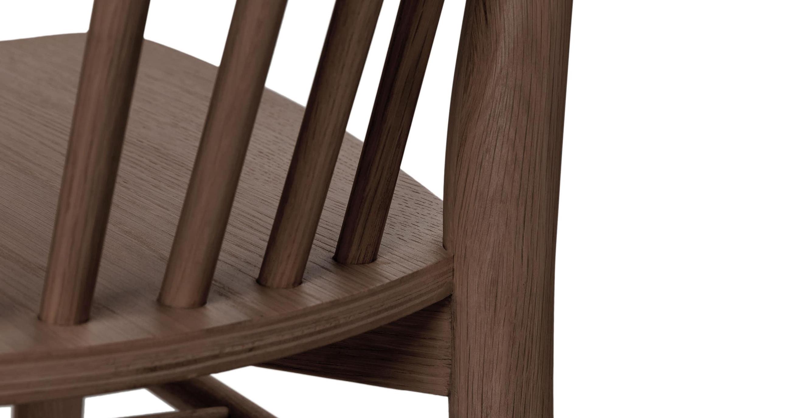 Ghế ăn gỗ tự nhiên Requin DC Sketch xuất khẩu19/32