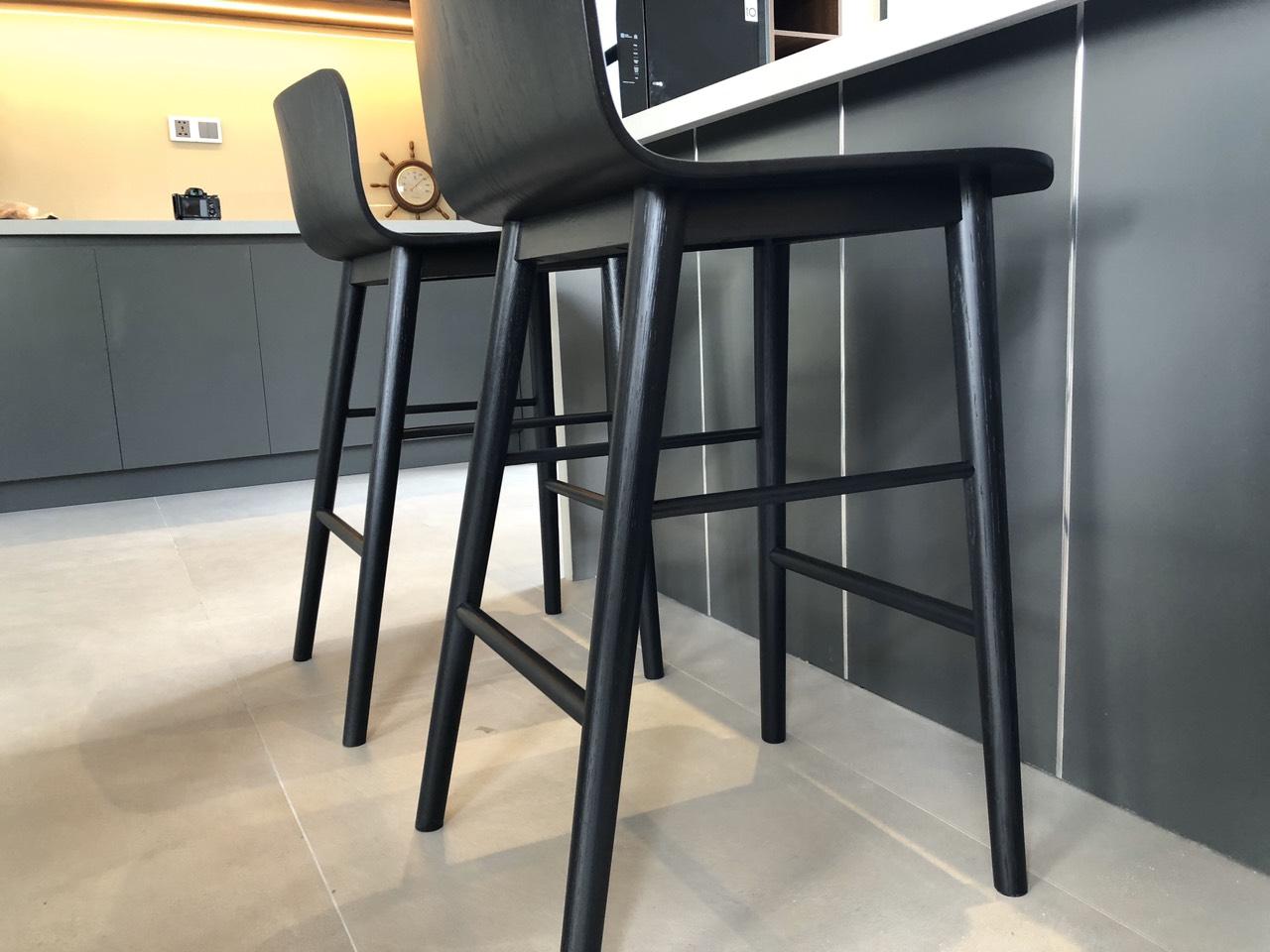 Ghế bar gỗ sồi tự nhiên Tami CC4/20