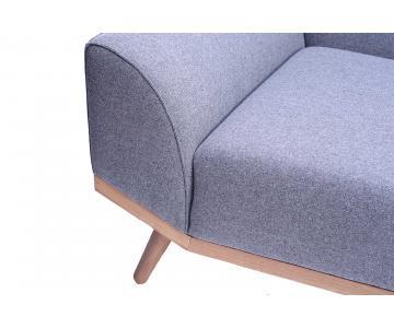 Ghế sofa 2 chỗ ngồi bọc vải otto SF7/14