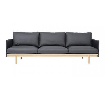Sofa 3 chỗ Pensive 3.5 bọc da L2