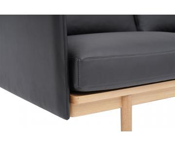 Sofa 3 chỗ Pensive 3.5 bọc da L24/8