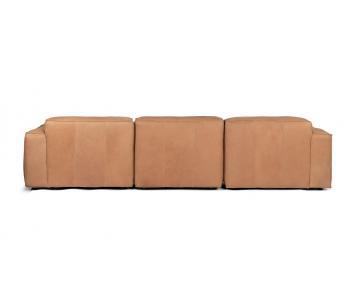 Ghế Sofa bọc da gỗ tự nhiên 3 chỗ ngồi Sketch7/9