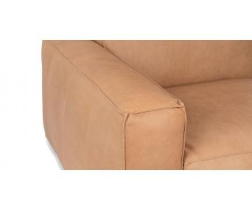 Ghế Sofa bọc da gỗ tự nhiên 3 chỗ ngồi Sketch8/9