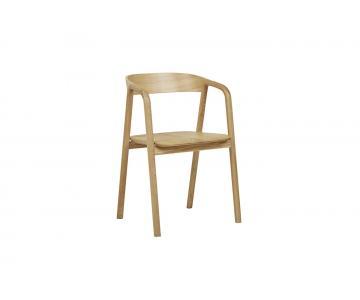 Ghế đơn gỗ sồi Inlay DC Sketch đẹp xuất khẩu