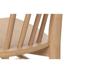 Ghế ăn gỗ tự nhiên Requin DC Sketch xuất khẩu31/32