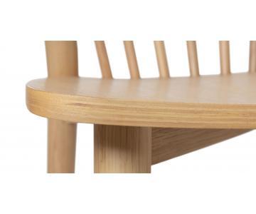 Ghế ăn gỗ tự nhiên Requin DC Sketch xuất khẩu32/32