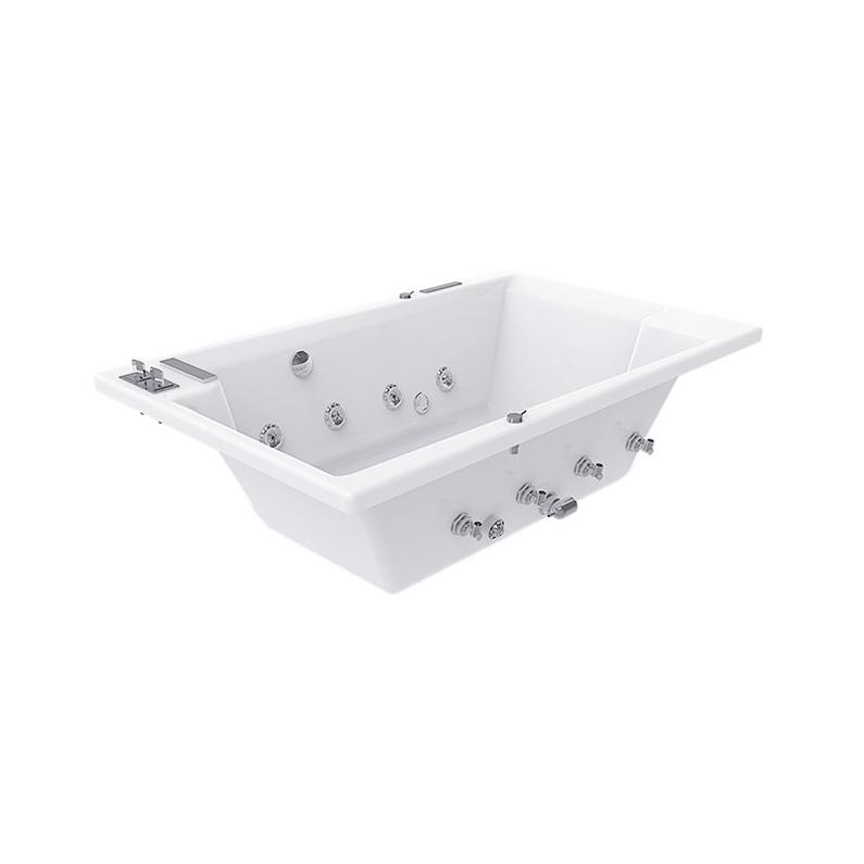 Bồn tắm âm sàn vuông Bravat 1.7m B25704DW-41/3