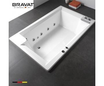 Bồn tắm âm sàn vuông Bravat 1.7m B25704DW-43/3