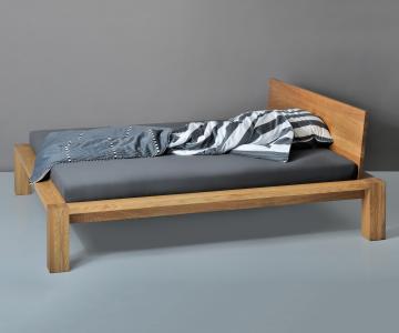 Giường gỗ tự nhiên sồi | Bed