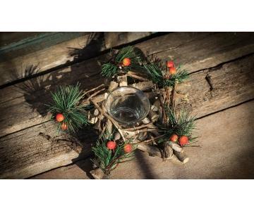 Chân nến thơm trang trí noel | Merry Christmas