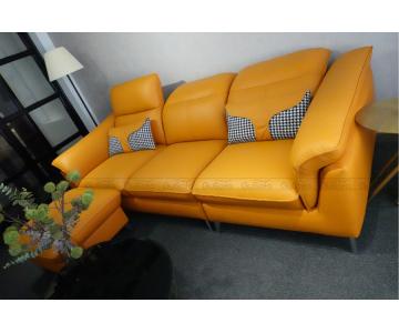 VB9 - Set Sofa 3 chỗ kèm ghế đôn KEVA 50% da bò thuộc Italia2/9