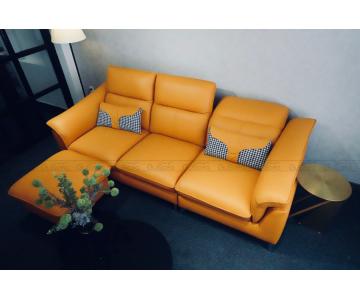 VB9 - Set Sofa 3 chỗ kèm ghế đôn KEVA 50% da bò thuộc Italia8/9