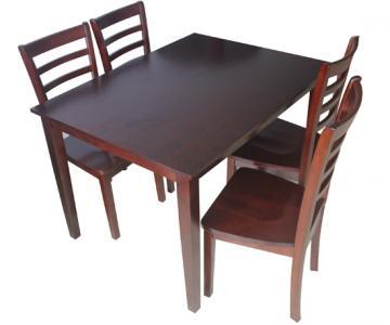 Bộ bàn 4 ghế gỗ cao su | Dining tables