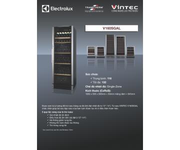 Tủ rượu VINTEC - Model: V160SGAL