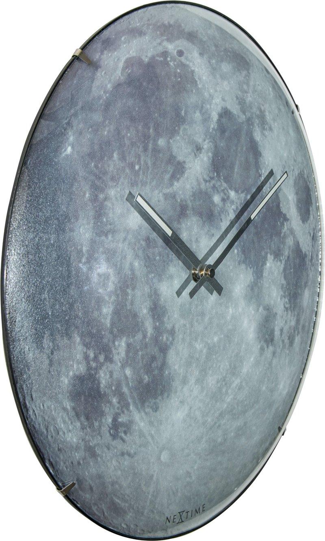 Đồng hồ treo tường mặt trăng Moon Dome Nextime7/9
