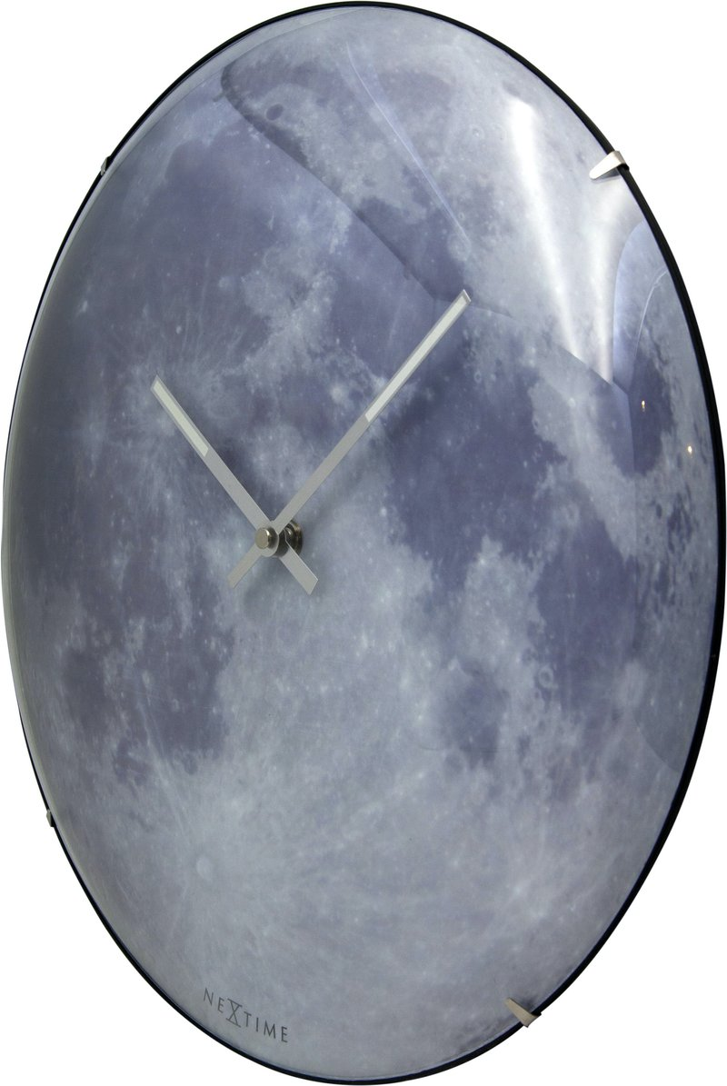 Đồng hồ treo tường mặt trăng Moon Dome Nextime4/9