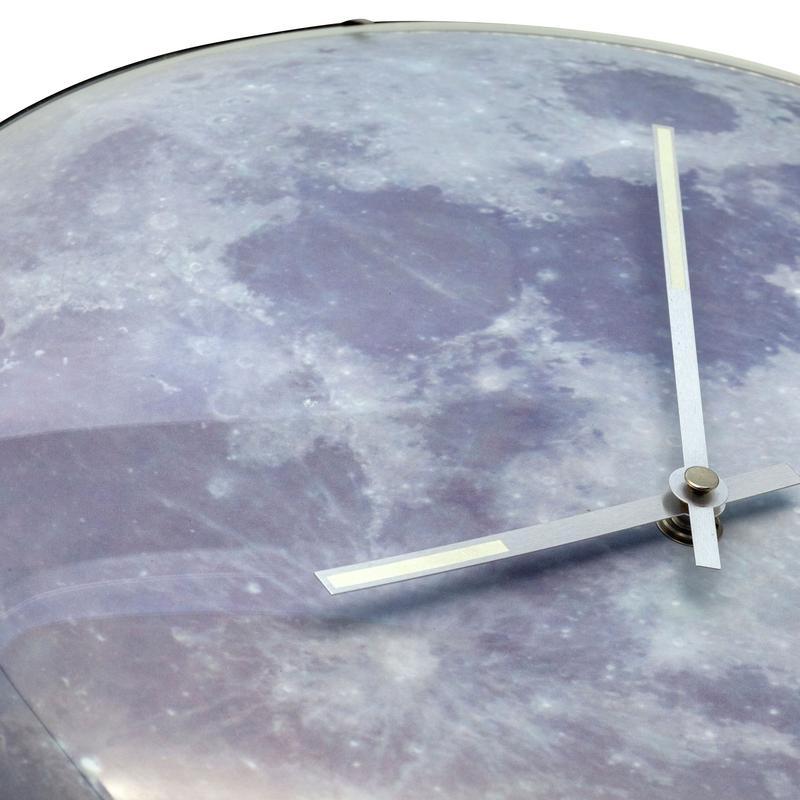Đồng hồ treo tường mặt trăng Moon Dome Nextime9/9