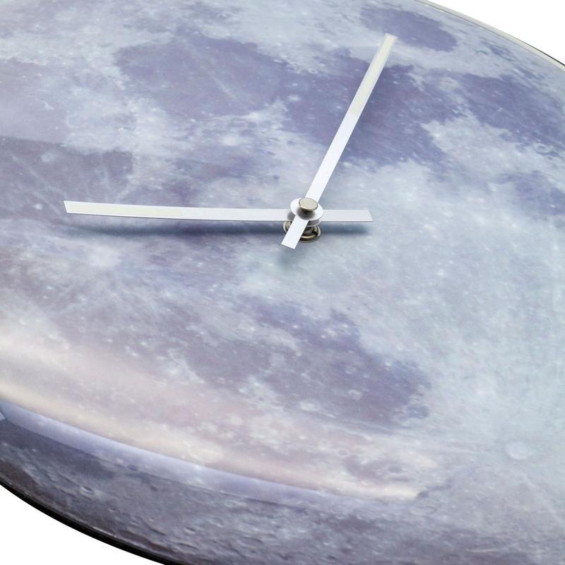 Đồng hồ treo tường mặt trăng Moon Dome Nextime3/9