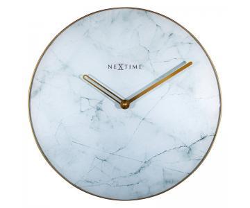 Đồng hồ kính vân đá marble Nextime
