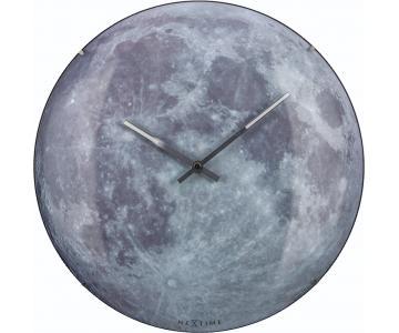 Đồng hồ treo tường mặt trăng Moon Dome Nextime