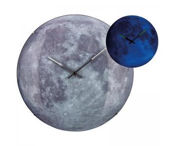 Đồng hồ treo tường mặt trăng Moon Dome Nextime8/9