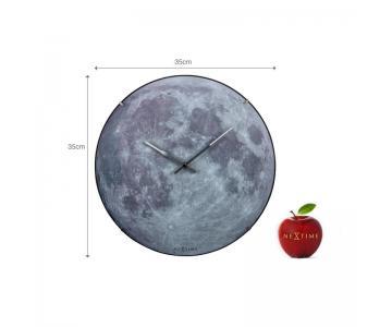 Đồng hồ treo tường mặt trăng Moon Dome Nextime5/9